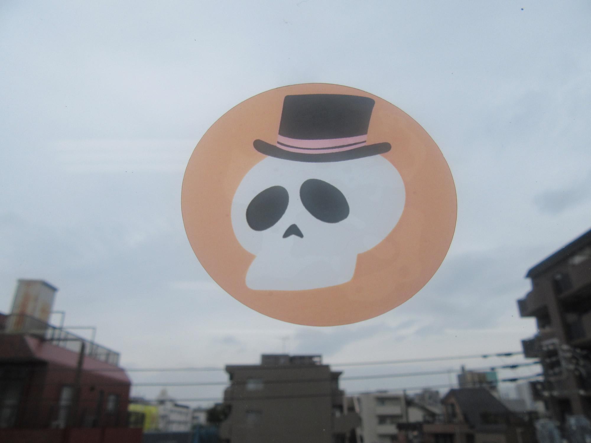 窓に貼れるハロウィンステッカー